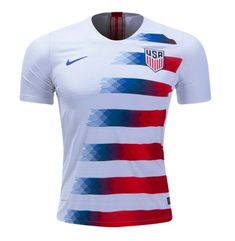 12f748d8e Men s USA Home SOCCER Jersey 2018-2019 white. Fifa JerseysFootball ...
