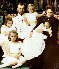 la famille impériale de Russie, les ROMANOV