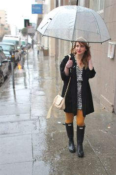 It doesn't matter about the rain, i've got my Wellingtons on