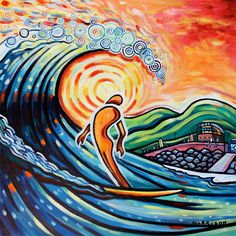 Phillip morrison    golden surfer (used for the Lahinch Longboarding comp poster 2011)