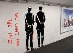 Street-art with passion and brain Graffiti, Street Art Banksy, Banksy Art, Street Mural, Bansky, Banksy Images, Stencil Art, City Style, Girls Be Like