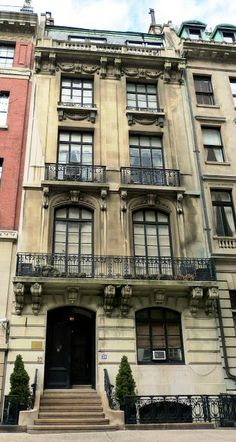 Daytonian in Manhattan: The 1904 Arthur Scribner House -- No. 39 E. 67th Street