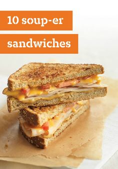10 Soup-er Sandwiches – Talk about soup-er, try whipping up a yummy grilled cheese with KRAFT Singles and heat up some soup. A deliciously simple affordable combination that's the perfect answer to any mealtime blues.