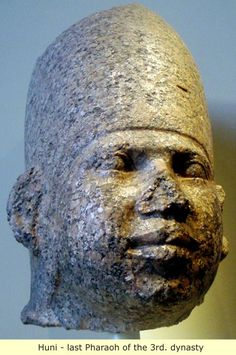 Ancient Egypt:  Huni, The old kingdom to the Middle kingdom