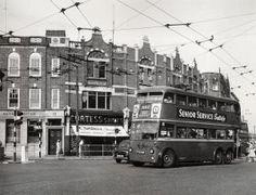 route 662 trolleybus Harlesden 1959