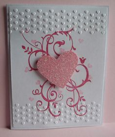 Stampin Up Handmade Greeting Card Love Valentines Day Wedding Anniversary