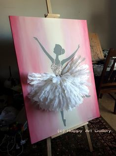 Paint Colors For Kitchen Walls. Uncomplicated wall interior planning recommendations any homeowner could use Ballerina Art, Ballet Art, Ballerina Nursery, Ballerina Project, Ballet Dancers, Kids Artwork, Kids Room Art, Diy Wall Art, Canvas Wall Art