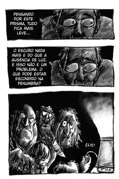 Quadrinhos Inquietos: ESCURO 6 de 6