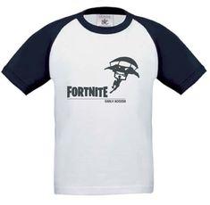 Kids Baseball T-shirt Navy Blue FORTNITE