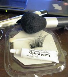 make your own false lashes
