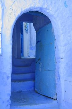 Chefchaouen - Blue city in Morocco  | post by desert-dreamer