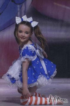 Dance Moms star, Kendall in personal dance photos