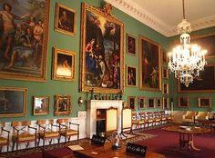 The Picture Gallery - Stourhead House - Mere - Wiltshire - England