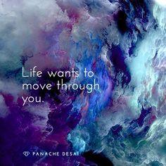 ...through you.