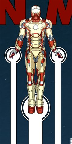 Iron Man 3 Teaser by Matt Ferguson, via Behance