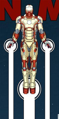 Iron Man 3 Teaser by Matt Ferguson, via Behance