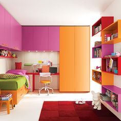 Home Dzine DIY - Colourful bedrooms for kids