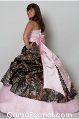 Totally gonna be my wedding dress i have been dreaming of a camo wedding!