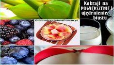 OdchudzanieJestProste.pl-piekny-jedrny-biust-koktajl-na-mega-biust- Weight Loss, Sport, Vegetables, Food, Diet, Deporte, Losing Weight, Sports, Essen