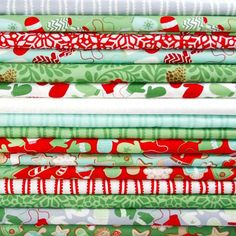 """In from the Cold"" Fabrics from Kate Spain (Moda)"