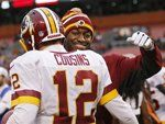 Week 15: Washington #Redskins over Cleveland #Browns 38-21. Kirk Cousins doing work.