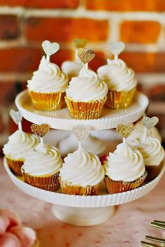 Totally Unique Wedding Cupcake Ideas ❤ See more: http://www.weddingforward.com/unique-wedding-cupcake-ideas/ #weddingforward #bride #bridal #wedding