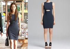 Hotel King Episode Ah Mo-Ne's Blue Cutout Dress - KdramaStyle King Clothes, Lee Da Hae, Celeb Style, My Style, Hotel King, King Outfit, Cutout Dress, Helmut Lang, Asian Woman