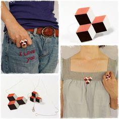 Anliz: bijoux en plastique fou Shrink Paper, Shrink Plastic, V Dress, Girly, Shrinky Dinks, Diy Rings, Bijoux Diy, Clay Projects, Diy Jewelry
