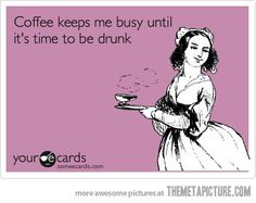 LOL - I don't drink coffee but this gave me a chuckle