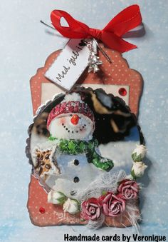 Christmas Tag, Christmas Ornaments, Journaling, Holiday Decor, Cards, Blog, Handmade, Design, Hand Made