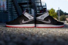 "Air Jordan 1 Retro 89 ""Black & Fire Red"""