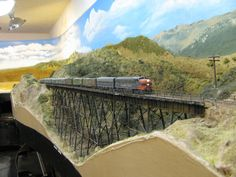 N scale Model Railroad by trainatorium