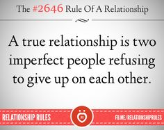 Two imperfect people