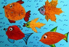 Autumn Crafts, Fall Crafts For Kids, Autumn Art, Nature Crafts, Art Stuff For Kids, Art For Kids, Butterfly Crafts, Flower Crafts, Dry Leaf Art