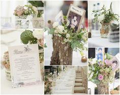Wedding Table Decorations, sooo pretty!