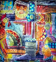 КРАСОТЕНЬ: БАТИК.Чагорова Татьяна Геннадьевна. Пенза Silk Painting, Zentangle, Mixed Media, Create, Illustration, Blog, Zentangle Patterns, Zentangles, Illustrations