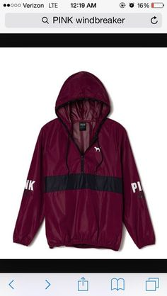 PINK windbreaker.. i wish i have  this one!!!