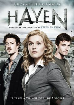 """Haven: The Complete First Season. Gripping and enthralling, based on a Stephen King story, """"The Colorado Kid""""    FindTVSongs.com"""