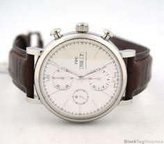 IWC Portofino Automatic Chronograph IW391007  Mens Watch #IWC #LuxuryDressStyles