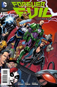 Lex Luthor cannot abide by anyone ruling the planet besides him. He gathers other like minded individuals.