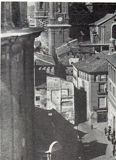 Vista Calle Pilar desde el cimborrio La Seo