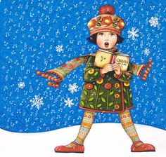 MARY E - Katie Barwell - Picasa Web Albums Looks like the inspiration for Caroling Sophie