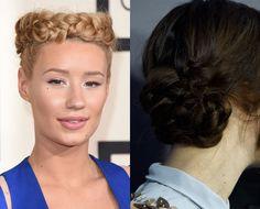 Iggy Azalea and Keira Knightly braids