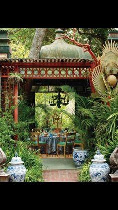 Gorgeous garden retreat
