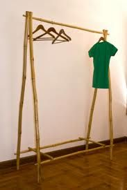bamboo clothes rail - Google Search
