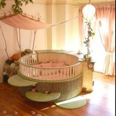 Baby girl crib I wish I had this crib for my baby girl.