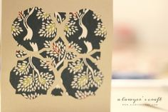 Handmade Cards 101at A Lawyer's Craft Quatrefoil Card