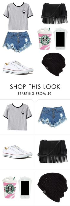 """Sin título #110"" by karenrodriguez-iv on Polyvore featuring moda, Chicnova Fashion, Converse, White House Black Market y UGG Australia"