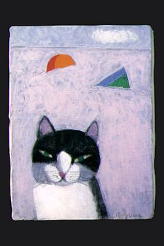 cat : Ryuichi Yamashiro Japanese designer / painter 1920-1997