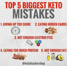 5 keto mistakes